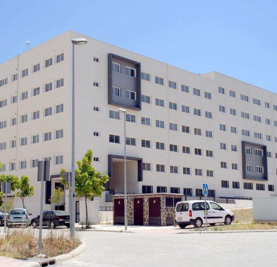Viviendas VPO en Jaén. Constructora B. Solis, construcción y proyectos en Marbella.