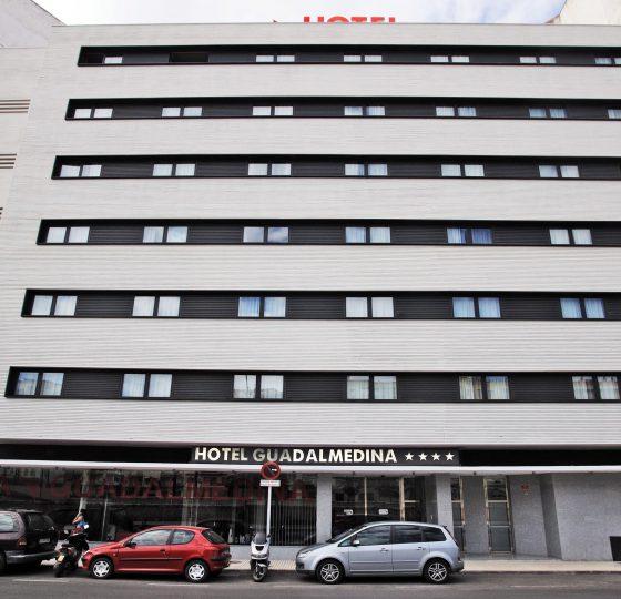 Hotel Guadalmedina. Constructora B. Solis, construcción y proyectos en Marbella.