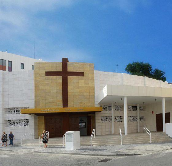 Iglesia San José, Estepona. Constructora B. Solis, construcción y proyectos en Marbella.