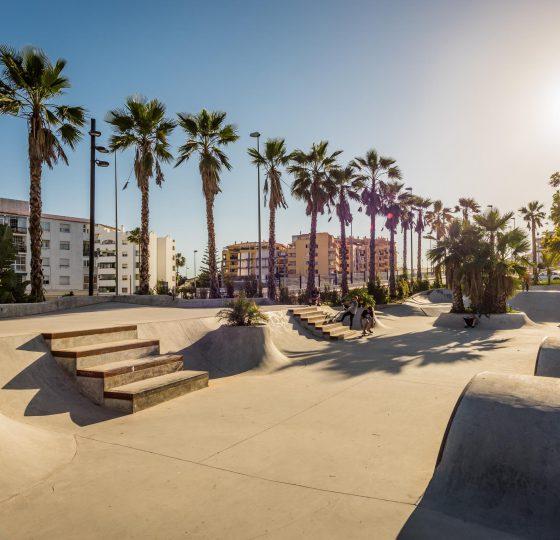 Skate Park San Pedro Alcántara. Constructora B. Solis, construcción y proyectos en Marbella.