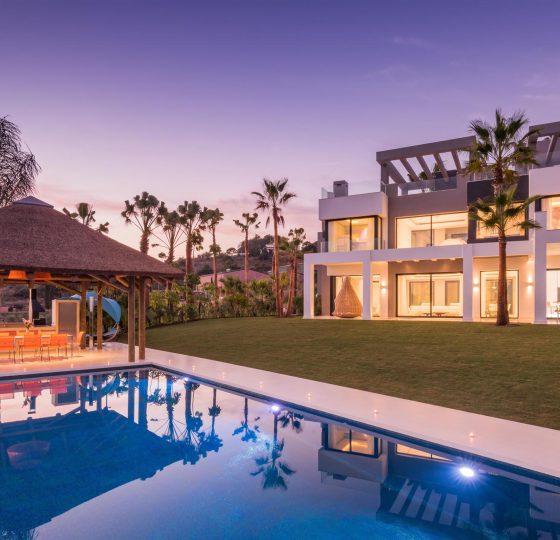 Villa Valentina Los Flamingos. Constructora B. Solis, construcción y proyectos en Marbella.
