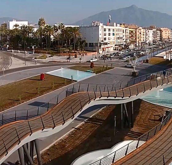 Bulevar San Pedro Alcántara. Constructora B. Solis, construcción y proyectos en Marbella.