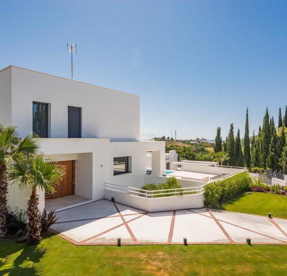 Villas San Pedro Norte. Constructora B. Solis, construcción y proyectos en Marbella.