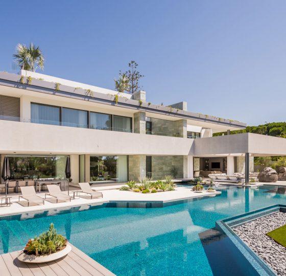 Villa en Marbella Club. Constructora B. Solis, construcción y proyectos en Marbella.